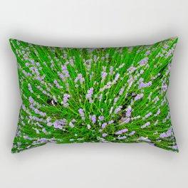 Lavender Close Up Rectangular Pillow