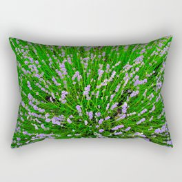Lavender Close Up Rectangular Pillow