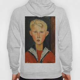 "Amedeo Modigliani ""The Blue-eyed Boy"" Hoody"
