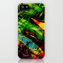Exploding Star iPhone Case