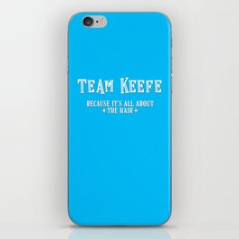 Team Keefe iPhone Skin