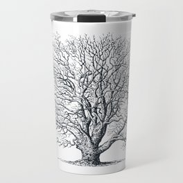 Antique Tree Illustration II Travel Mug