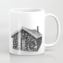 Little stone cabin Coffee Mug