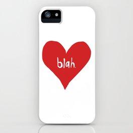 Ambivalent Valentine iPhone Case