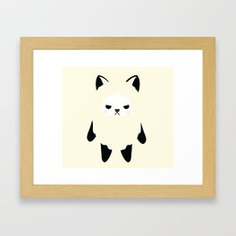 Mad puppy AGEE Framed Art Print