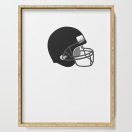 Game On Helmet American Football Design Serving Tray