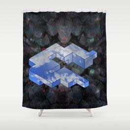 World Net Shower Curtain