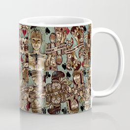 Requiem Playing Cards - Jokers and Courts Coffee Mug