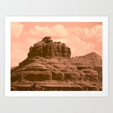 Bell Mountain, Sedona Arizona Art Print