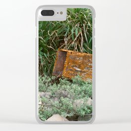 Lost Treasure Clear iPhone Case