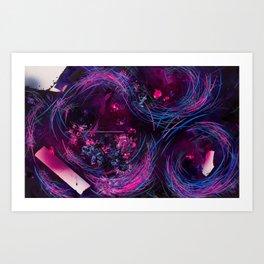 Mirror rorriM (The Reflection) Art Print