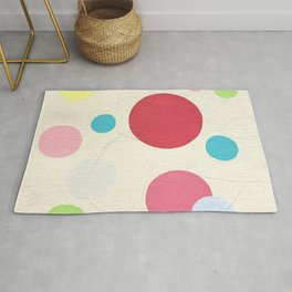 Circles by Christie Olstad Rug