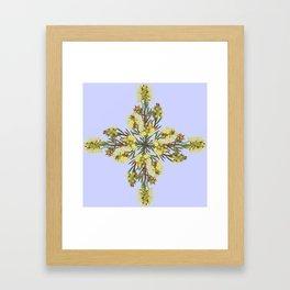 2941-Bottlebrush#1-P2-Mauve Framed Art Print