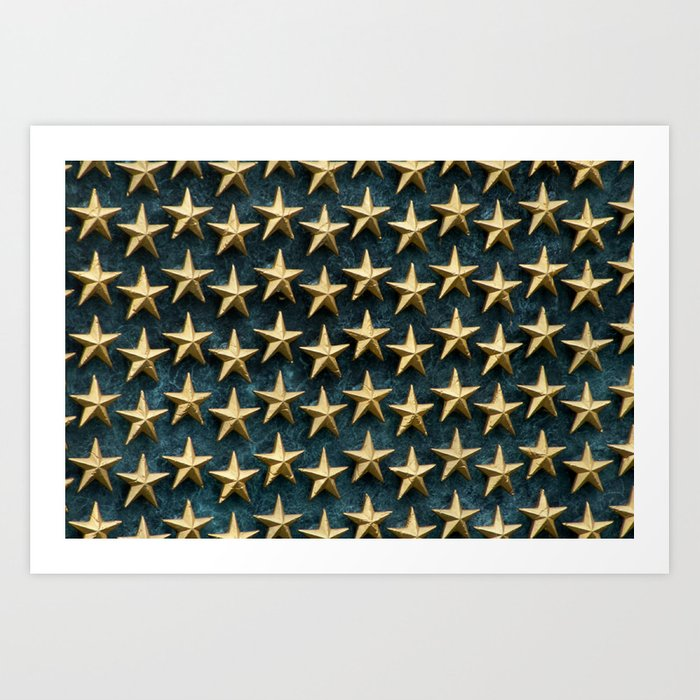 Our Heroes Stood For Us Art Print