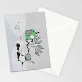 Very Green Schrieky Stationery Cards