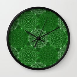 Op Art 45 Wall Clock