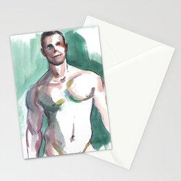 BRANDON, Semi-Nude Male by Frank-Joseph Stationery Cards
