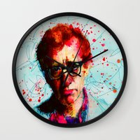 woody Wall Clocks featuring Woody by benjamin james