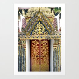 Palace Doors Art Print