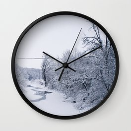 In the Dead of Winter Wall Clock