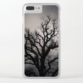 November Mood Clear iPhone Case