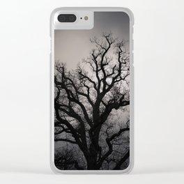November Mood Clear iPhone Case