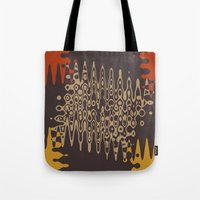 ethnic Tote Bags featuring Ethnic by Sonia Marazia