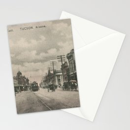 Tucson History - Downtown Congress Street Stationery Cards