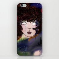 pain iPhone & iPod Skins featuring Pain by Anna Ilina