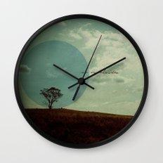 No Me Olvides Wall Clock