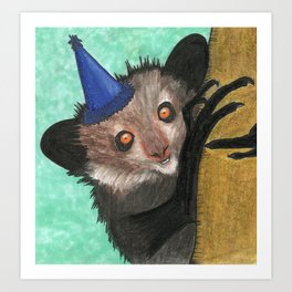 All in favor of a party? Aye aye! Art Print