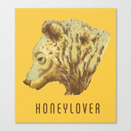 Honeylover Canvas Print