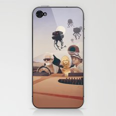 Fear and Loathing on Tatooine iPhone & iPod Skin
