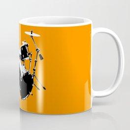 Drumkit Silhouette (frontview) Coffee Mug