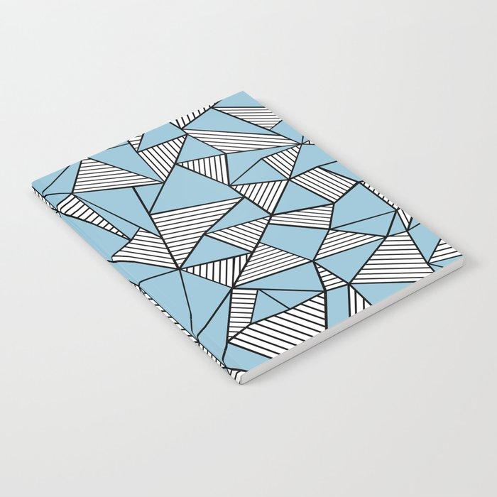 Ab Blocks Blue #2 Notebook