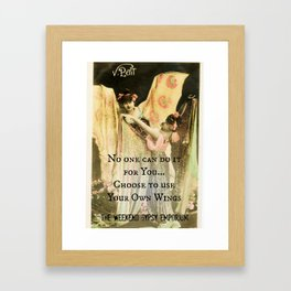 Use Your Own Wings Framed Art Print