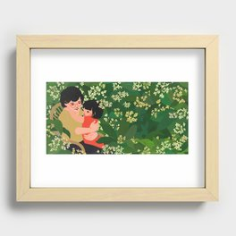 """I Dream of Popo - """"I tell Popo about my adventures"""" Recessed Framed Print"""