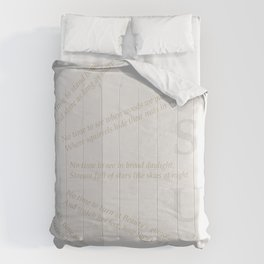 LEISURE I Comforters