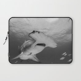 Greatness in Black & White Laptop Sleeve