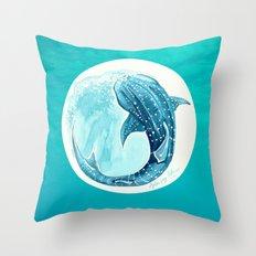 Shark Week 2016 Throw Pillow