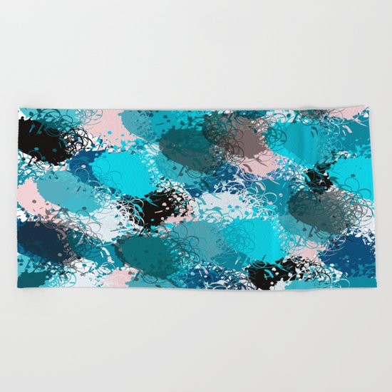 Abstract pattern 68 Beach Towel