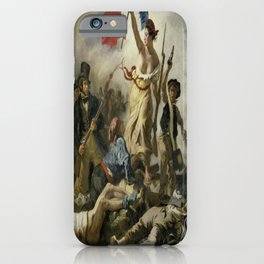 Eugene Delacroix's Liberty Leading the People iPhone Case