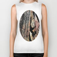 stone Biker Tanks featuring Stone by LilyMichael Photography