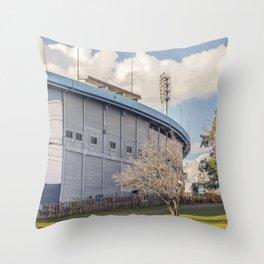 Centenario Stadium Facade, Montevideo - Uruguay Throw Pillow