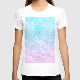 Pastel Scaly Marble Texture T-shirt