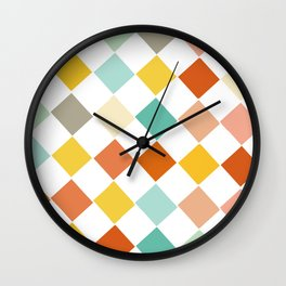 Color Check Wall Clock