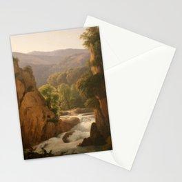 Hendrik Voogd - Paysage d'Italie Stationery Cards
