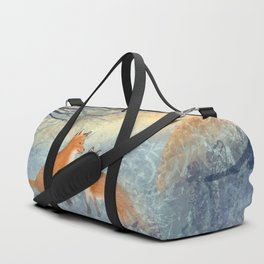 The Two Foxes Duffle Bag