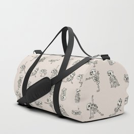 Skeleton Pug Yoga Duffle Bag