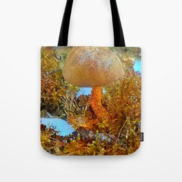 Pastell Bolete Tote Bag